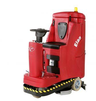 Podlahový čistiaci stroj so sediacou obsluhou RCM ELAN 732 Image