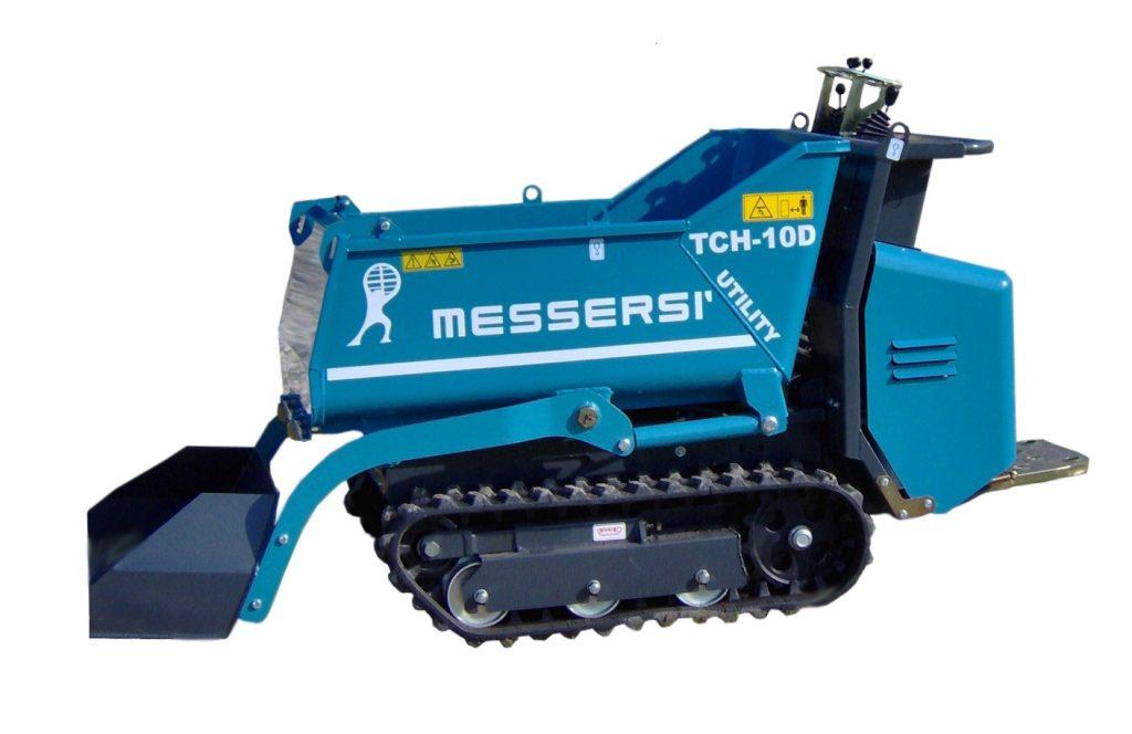 Pásový dumper s prihŕňačom Image