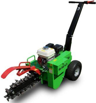Zemný drážkovač na závlahy Image